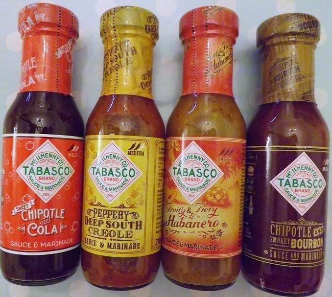 Deep South-Inspired Tabasco Sauces review