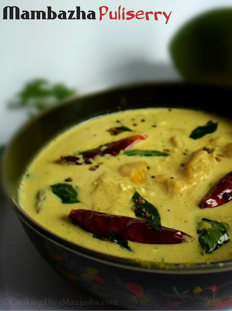 Mambazha Puliserry|Maanga Puliserry|Mango Yogurt kerala style curry|Kerala sadya recipe