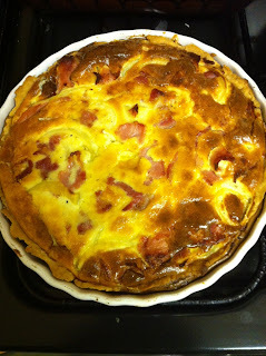 Quiche Lorraine from A Passion for Baking