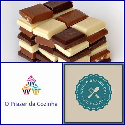 Resultado do desafio do chocolate - World Baking Day 2014