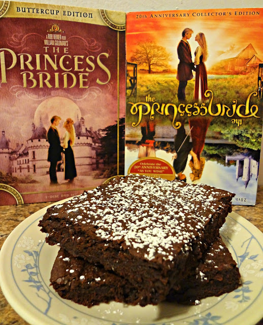 "Iocane-Dusted Brownies of Unusual Size-#SundaySupper Movie Inspired Recipes, ""The Princess Bride"""
