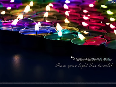 Lights of Diwali