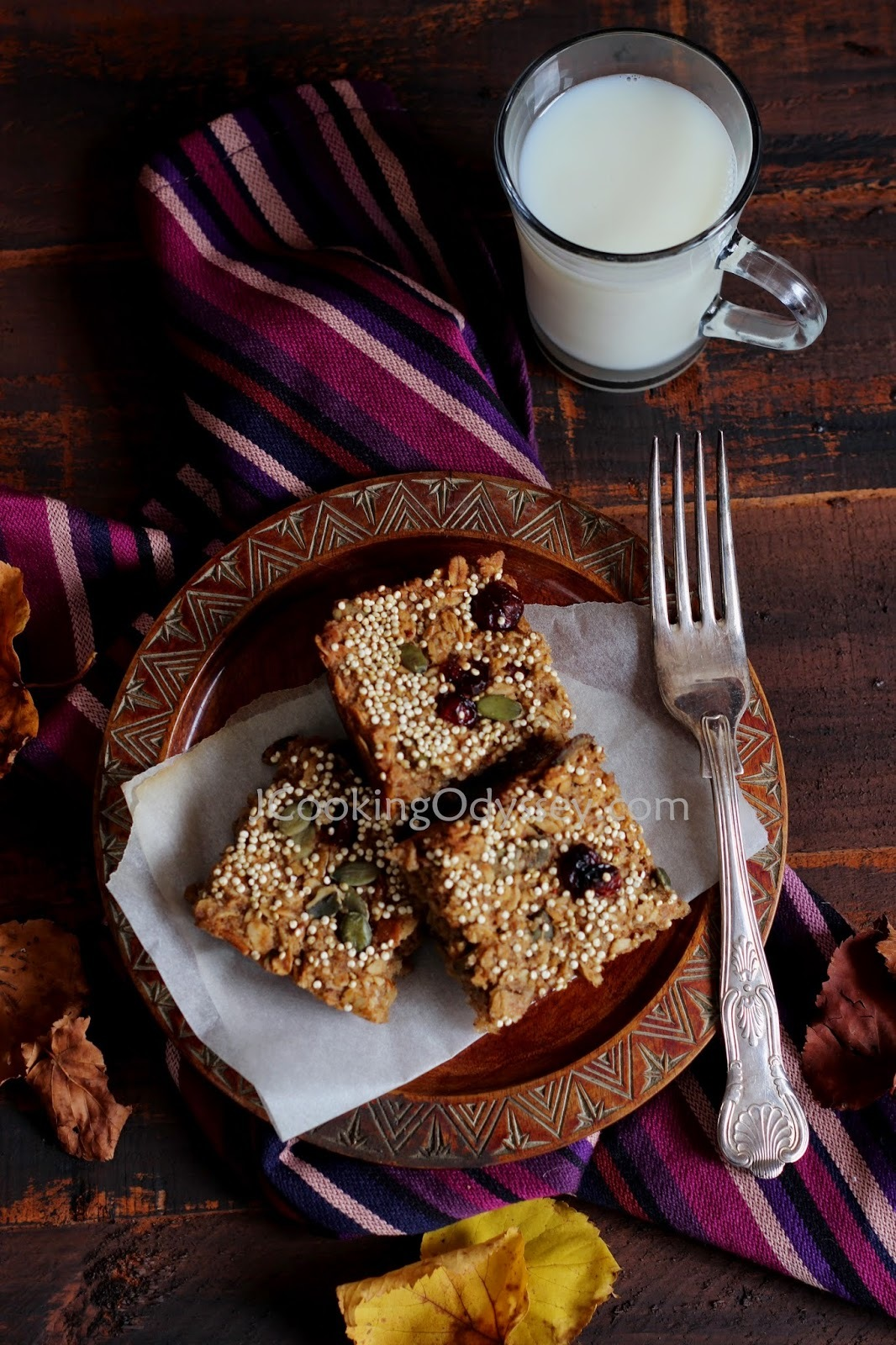 non dairy flapjack