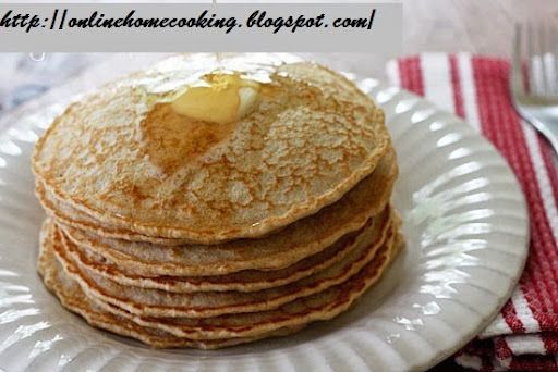 homemade instant whole wheat pancake mix