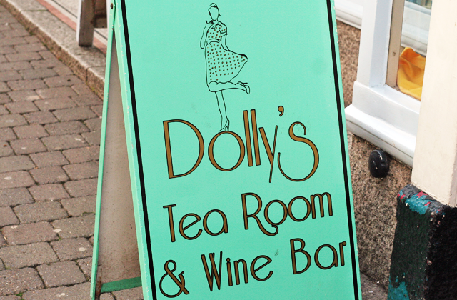 Supper Club with Lucas at Dollys Tea Room
