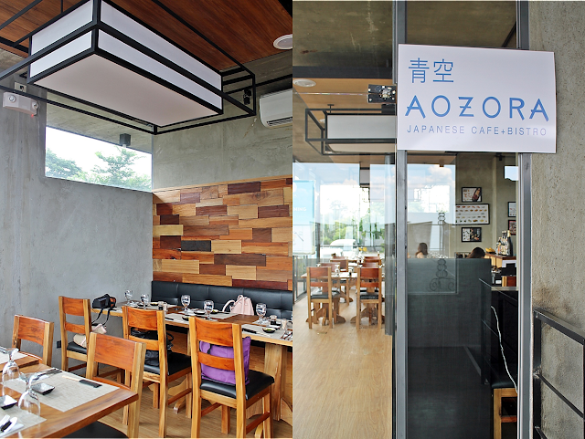 Aozora Japanese Cafe + Bistro: To Dine in the Clouds of Tagaytay
