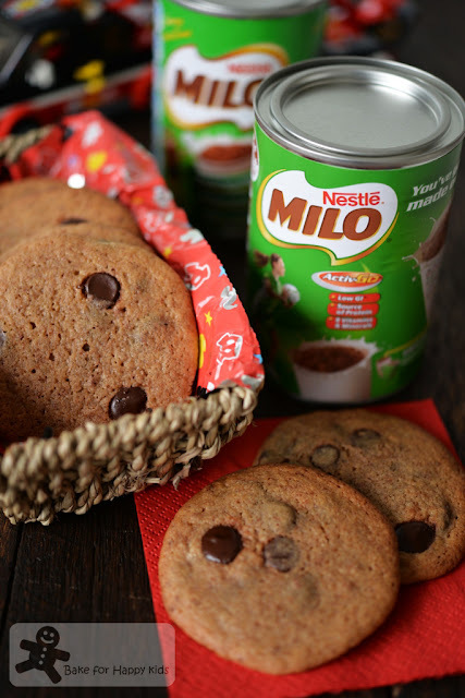 Milo Chocolate Chip Cookies