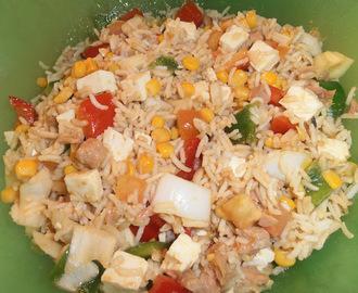 Recetas de de ensalada de maiz tierno con queso y atun - Ensalada de arroz y atun ...