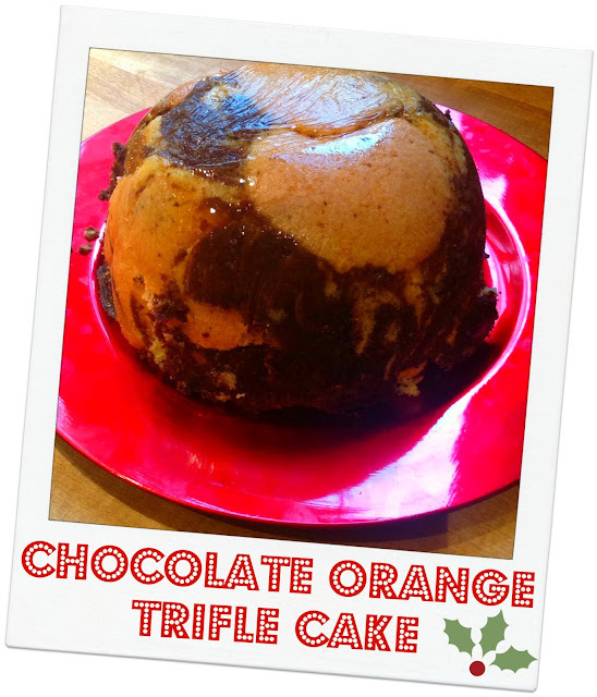 Chocolate Orange Trifle Cake