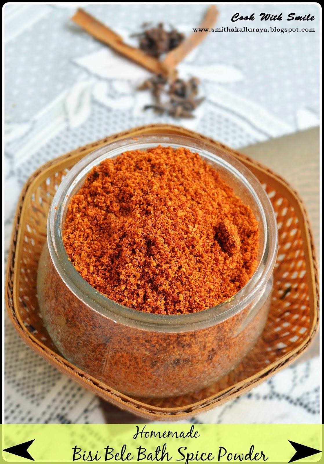 BISI BELE BATH POWDER / HOME MADE BISI BELE BATH SPICE POWDER - AUTHENTIC KARNATAKA STYLE