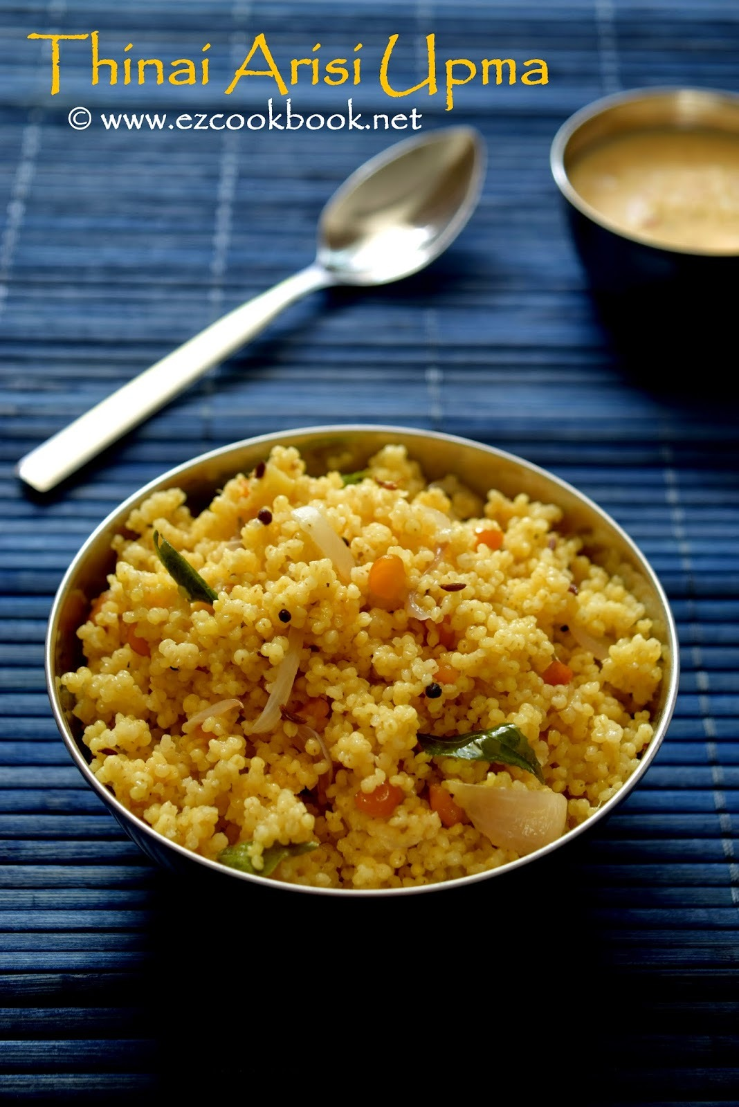 Thinai Arisi Upma | How To Make Foxtail Millet Upma Recipe