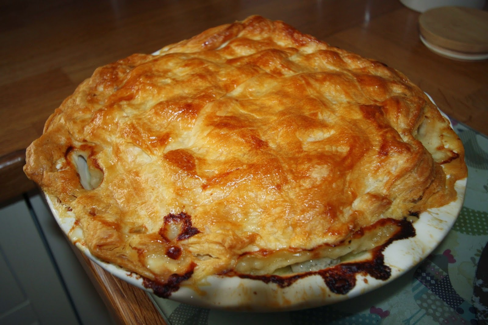 Recipe: Jamie Oliver's Chicken and Sweet Leek Pie