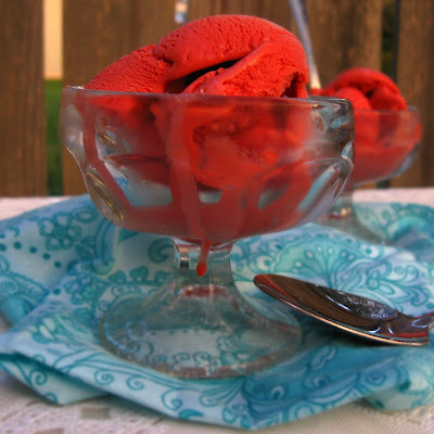 Red Velvet Cake Batter Ice Cream