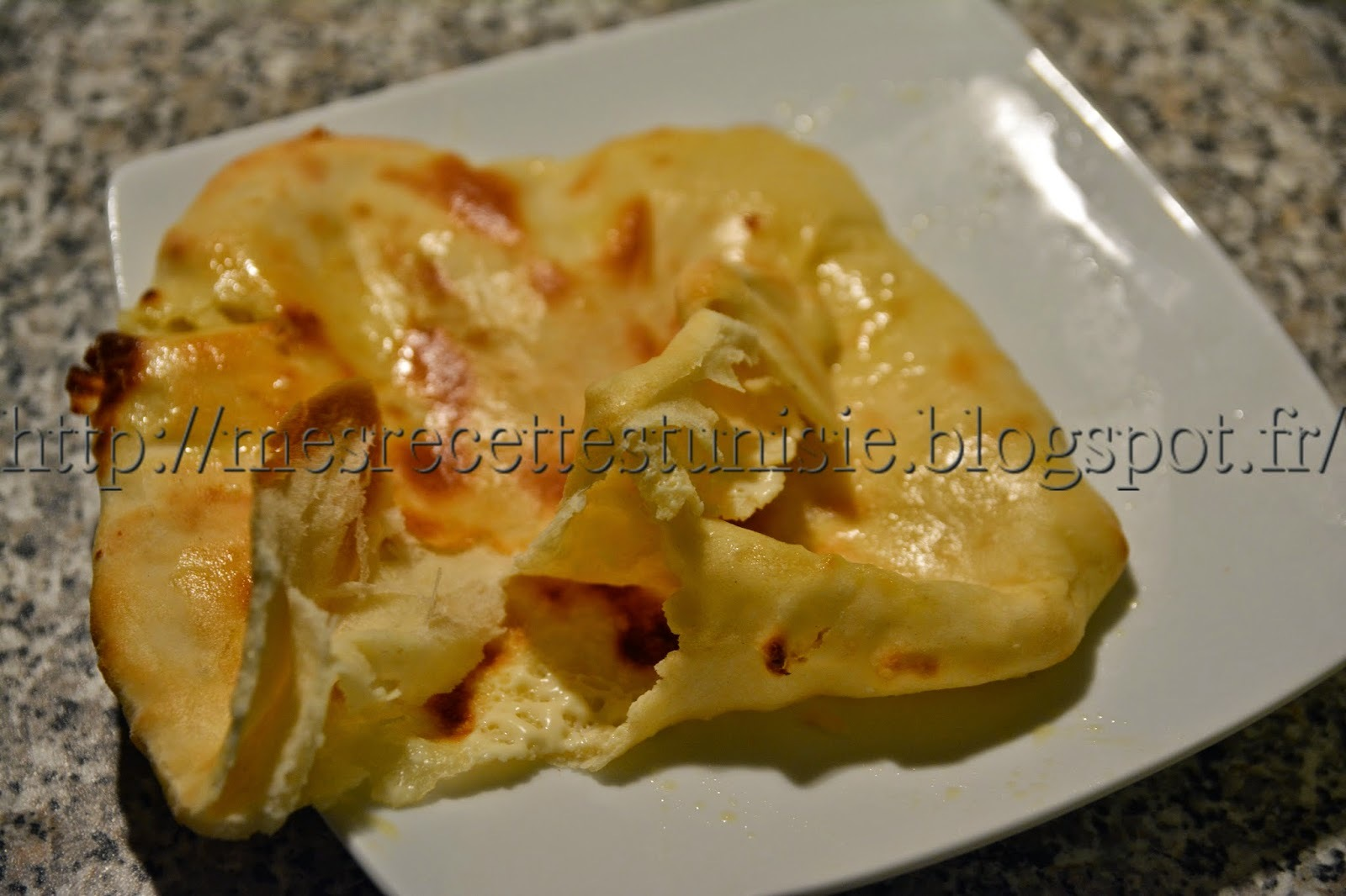 Naan au fromage (indien)