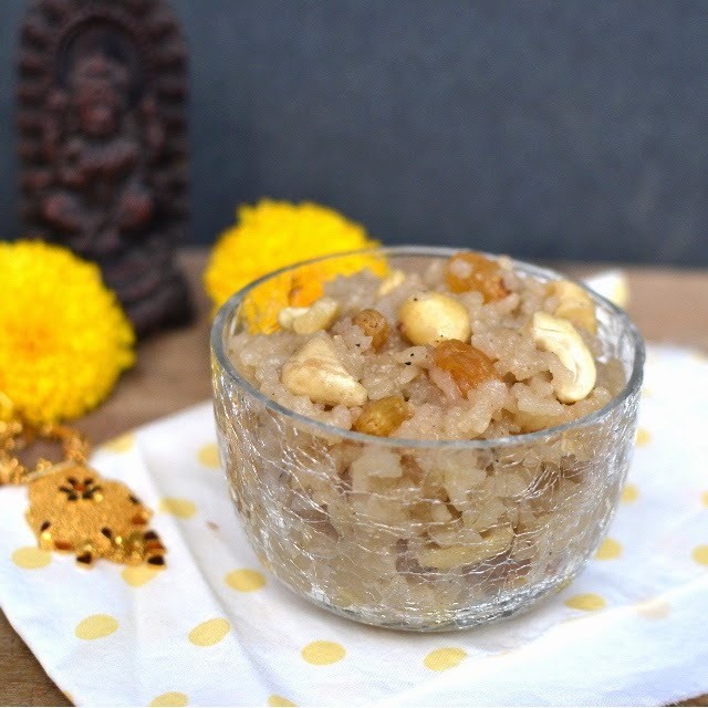 Bellam Payasam (Dairy-free Rice Pudding with Jaggery)