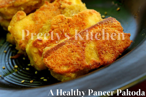 A Healthy Paneer Pakoda Recipe ( Easy Snack Or Appetizer)
