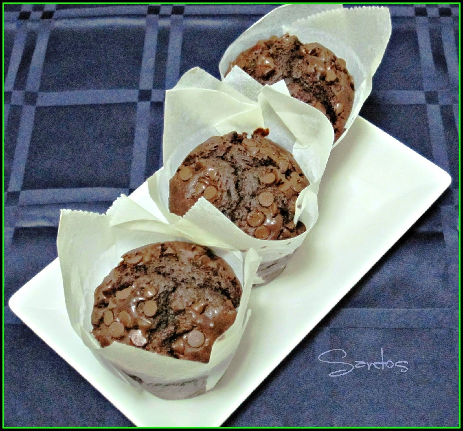 MUFFINS DE CHOCOLATE ESTILO STARBUCKS®