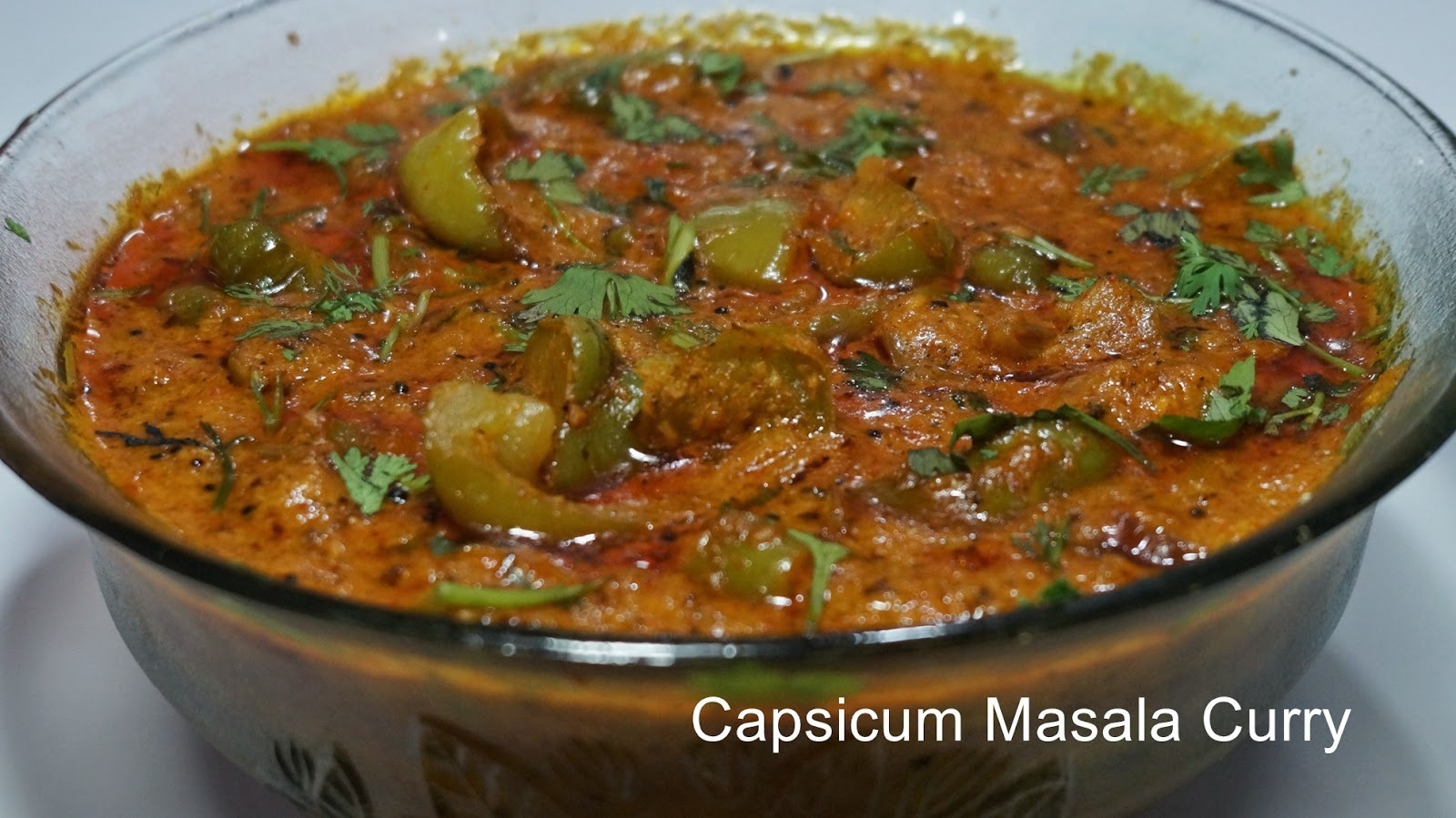 Capsicum  masala curry | Capsicum ka salan preparation in telugu