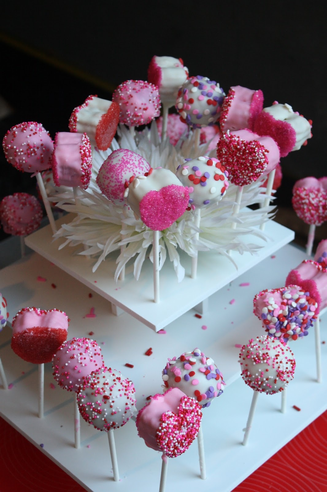 Valentine's Day Cake Pops