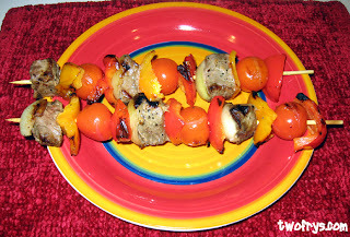 Steak and Veggies Shish Kabobs