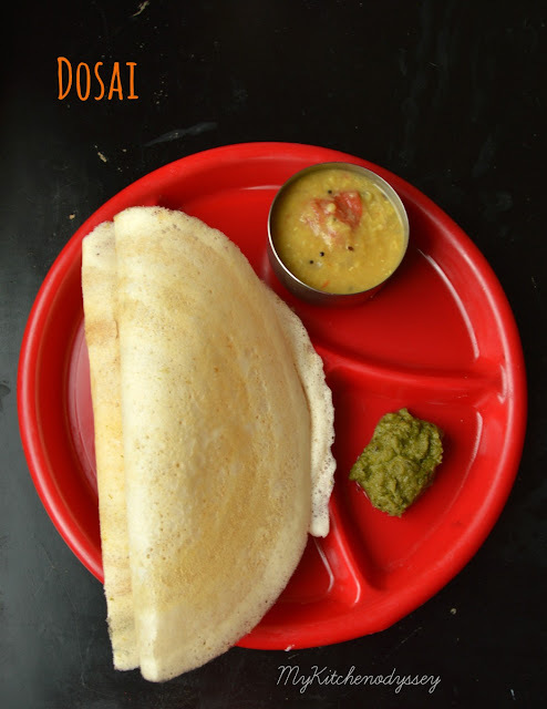 Dosai | South Indian Breakfast | Easy Dosa Recipe