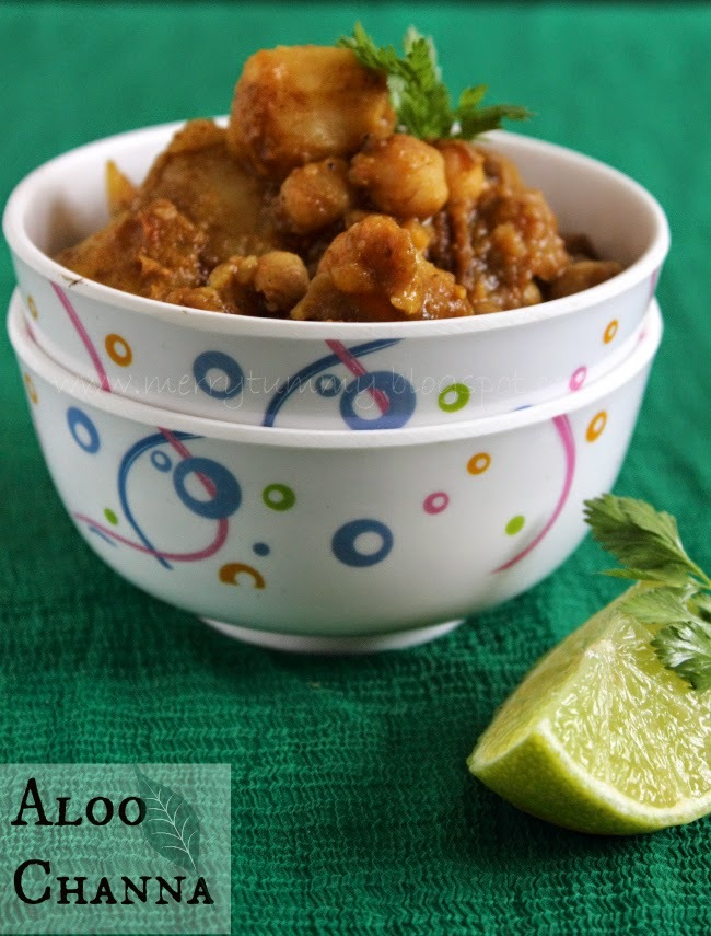 Aloo Channa/ Aloo Chola