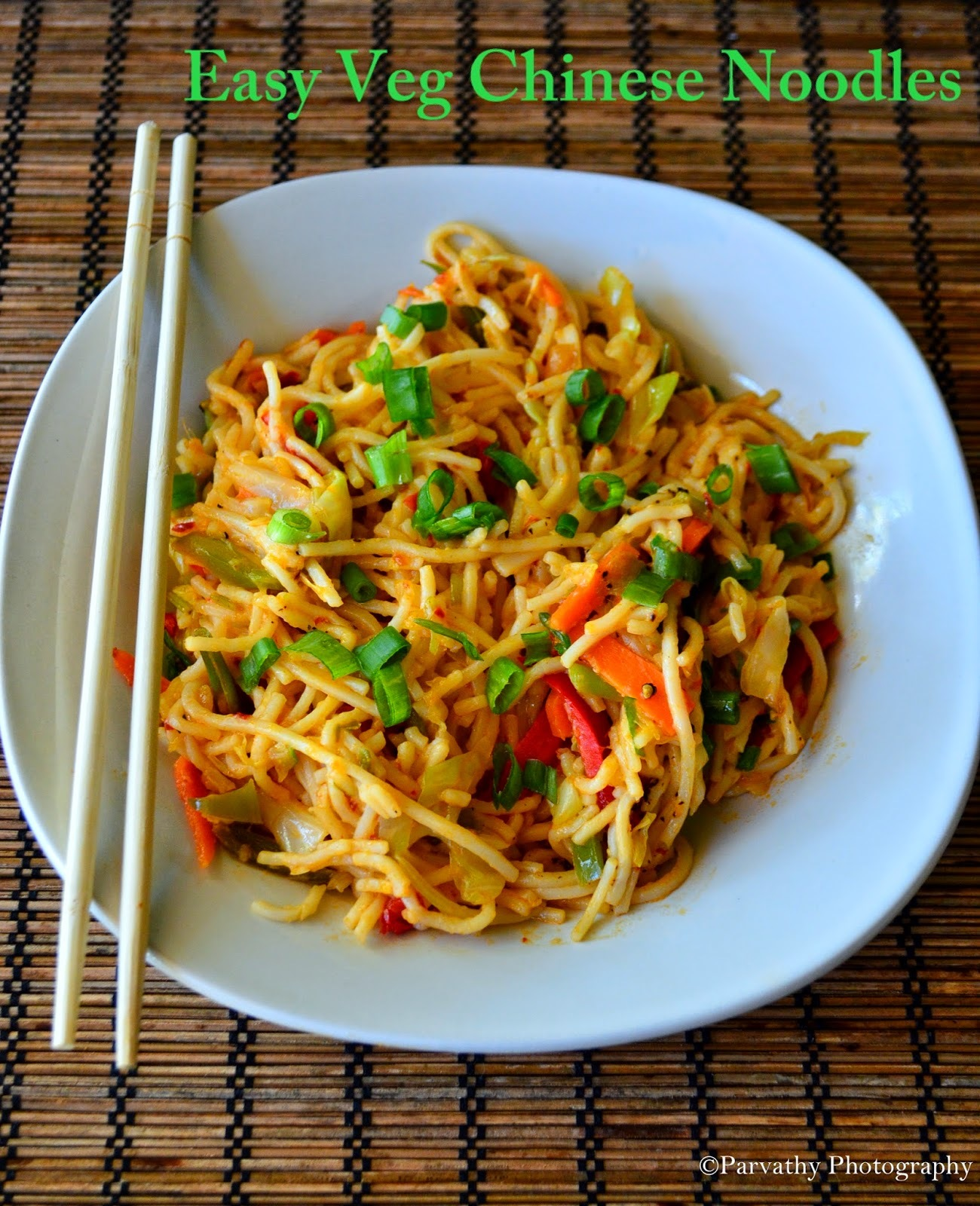 Restaurant-Style Chinese Noodle  Recipe | Indo-Chinese Noodle Recipe | Easy Veg Chinese Noodles