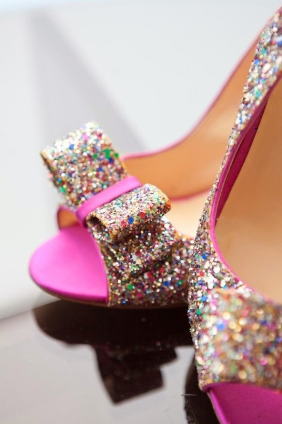 Shoes with Sequins and Sparkle