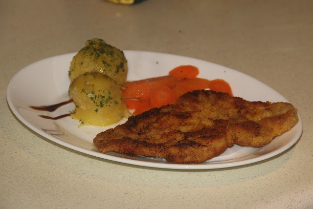 Schnitzel with Veal