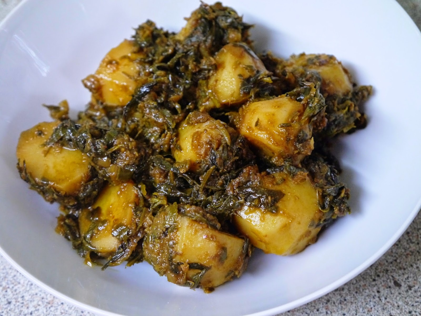 Aloo Methi (Potato and Fenugreek Curry)