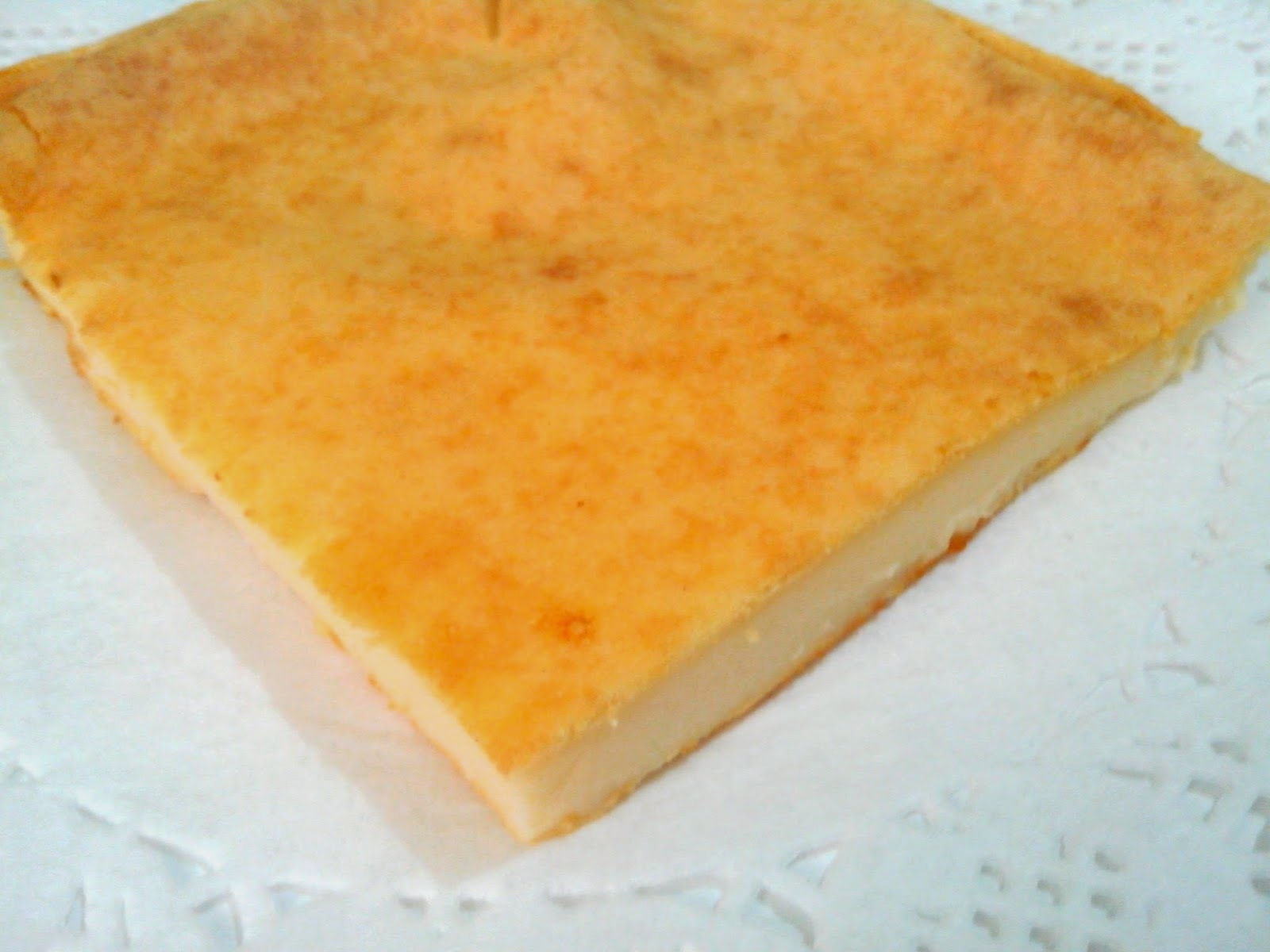 Quesada de Quesitos Sin Azúcar