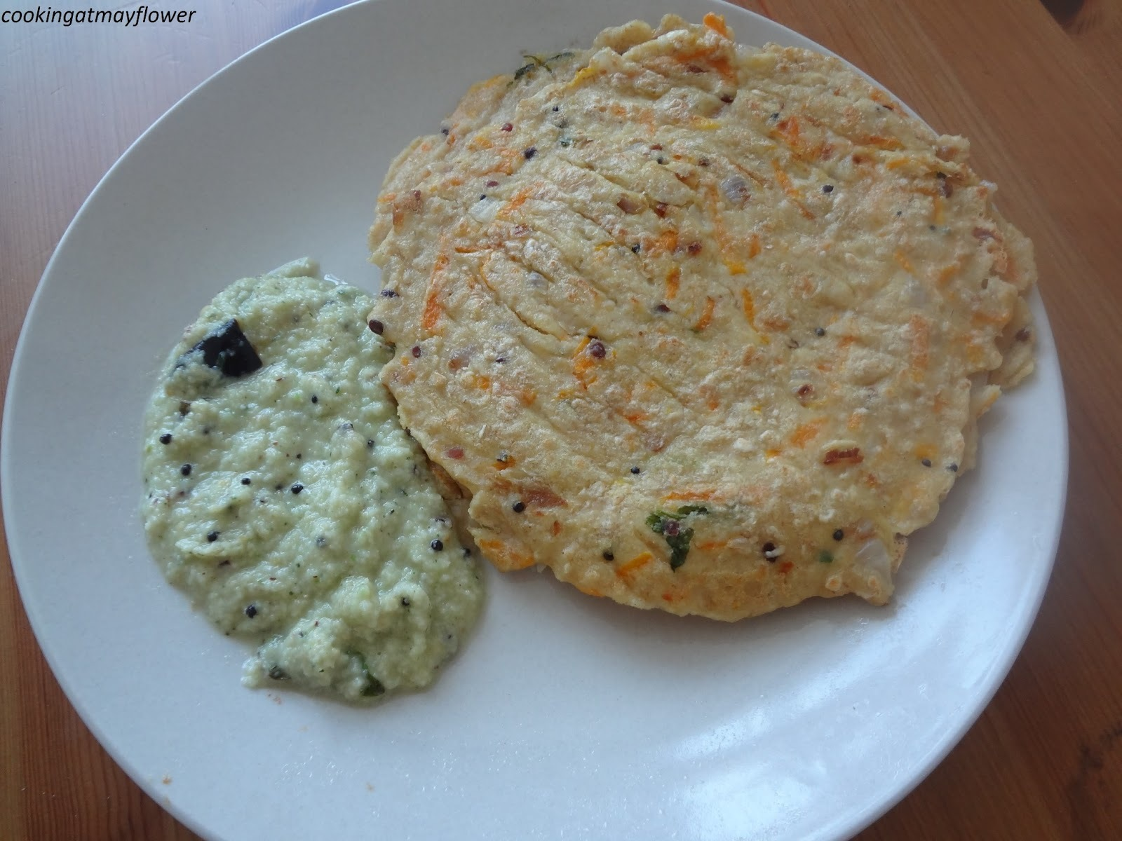 oats dosa with urad dal