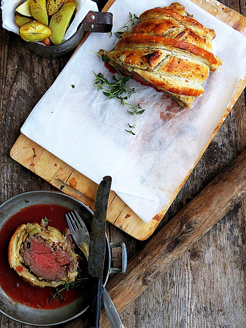 Boeuf Wellington eli Wellingtonin pihvi