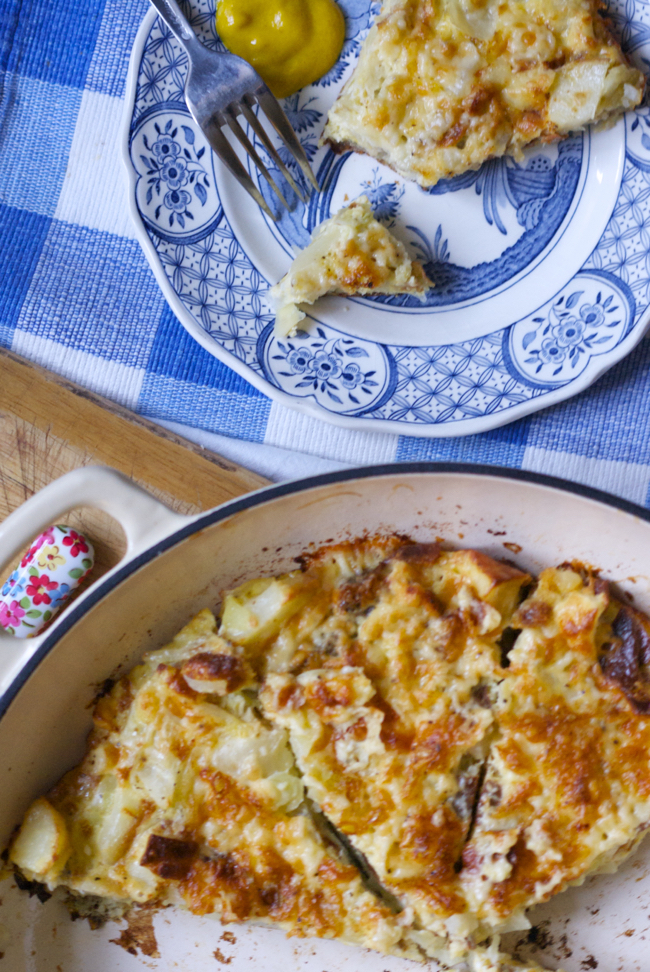 Recipe: Bubble and squeak frittata