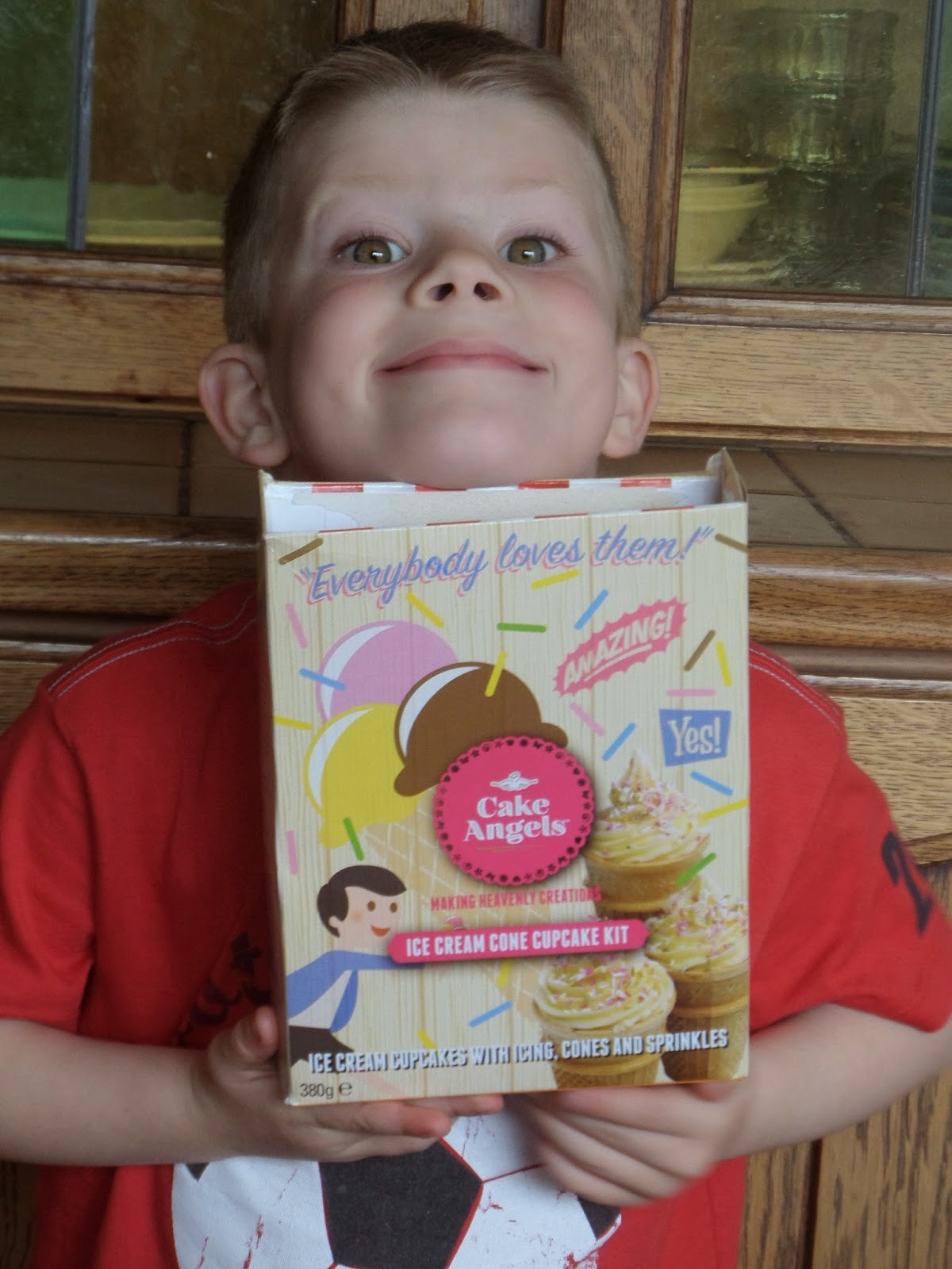 Cake Angels Ice Cream Cone Cupcake Kit review
