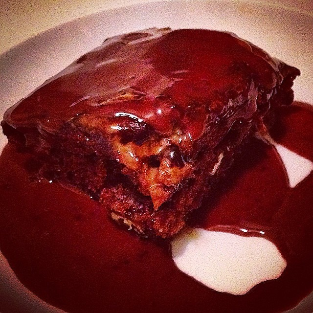STICKY + NUTTY TOFFEE PUDDING