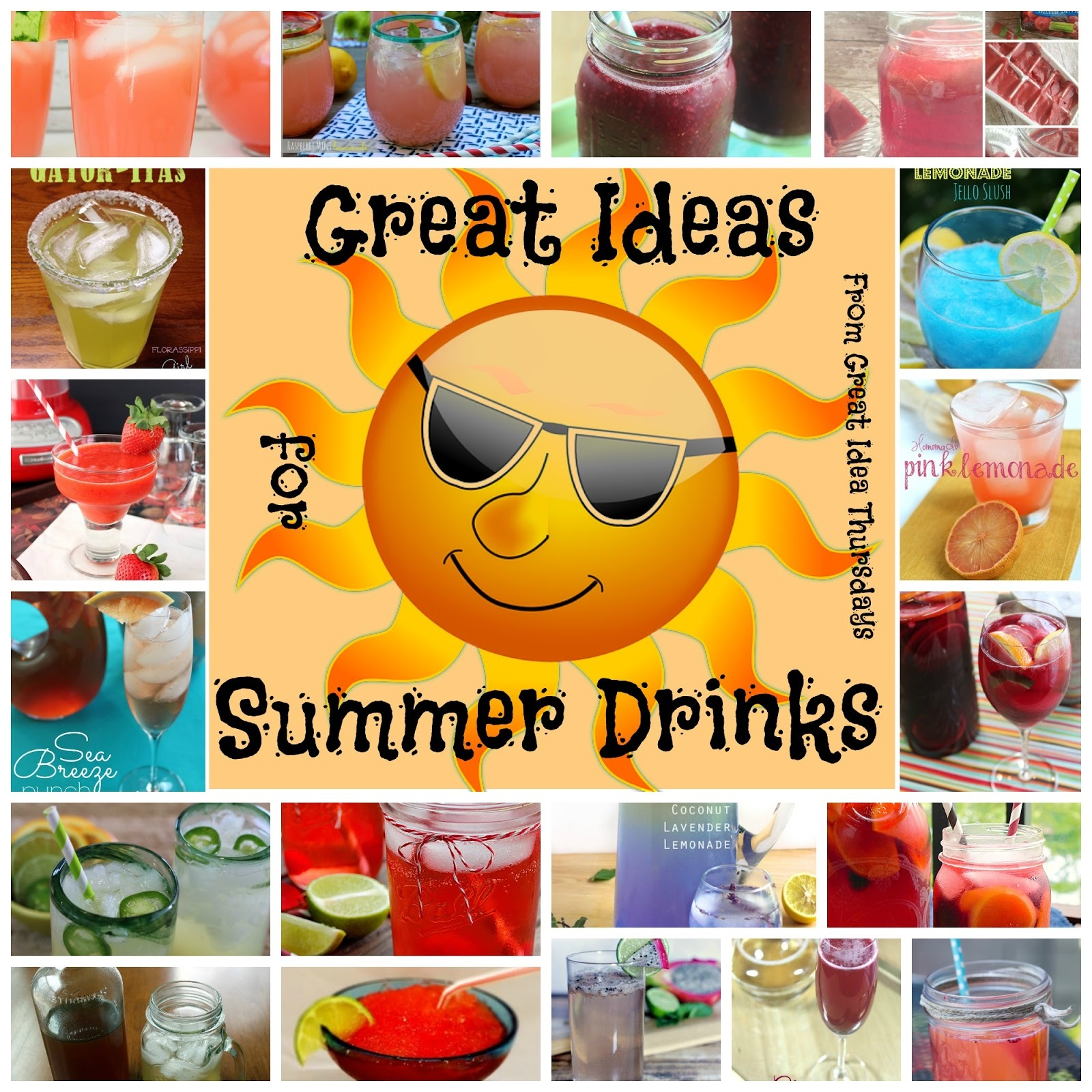 Great Ideas for Summer Drinks