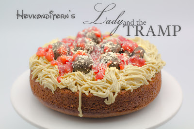 Spaghetti & Meatball Cake aka Lady & The Tramp Cake