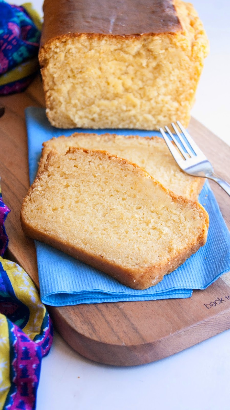 Eggless Condensed Milk Pound Cake