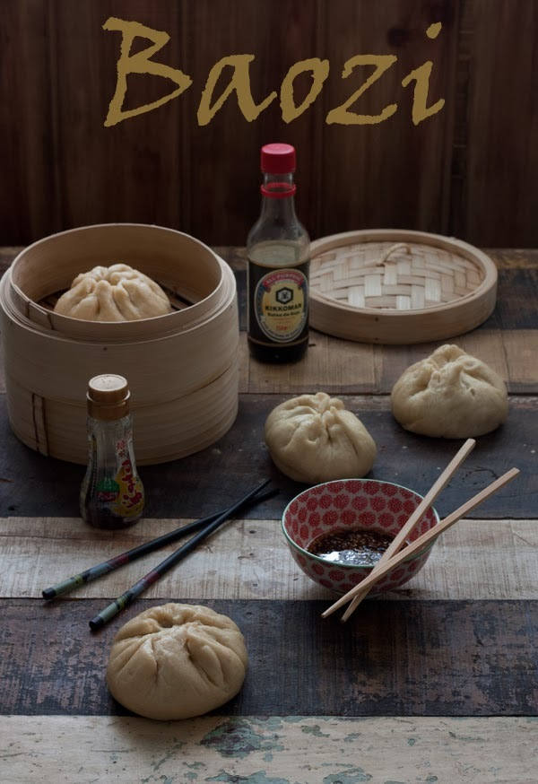 BAOZI, Bollos chinos rellenos para Bake The World