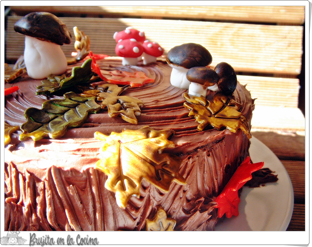 Chocolate Carrok Cake (Tarta de zanahoria y chocolate)
