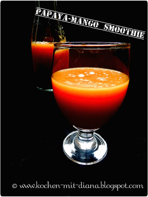 Papaya-Mango-Smoothie/ Papaya-mango-smoothie
