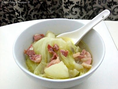 Bacon & Cabbage Soup (Cheat Boil Up)