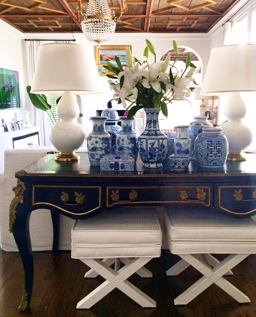 Spaces to Love Week  - Timeless in Blue and White