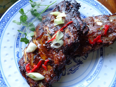 Spareribs in pittige ketjapmarinade