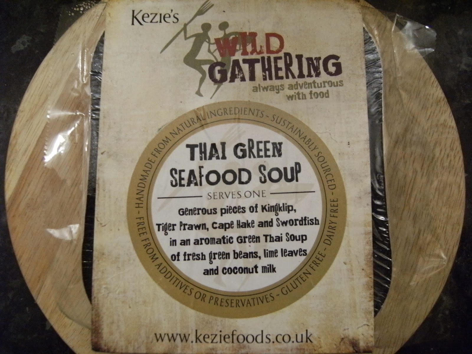 Kezie Foods - Thai Green Seafood Soup [Review by @CaptainKindling]