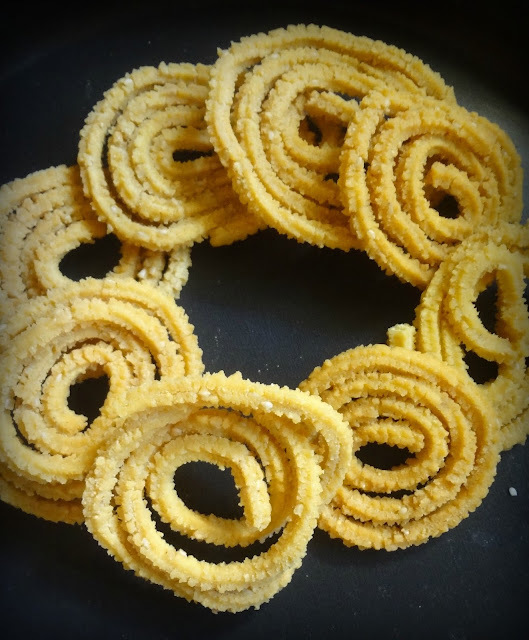 BUTTER MURUKKU ( DIWALI RECIPE)