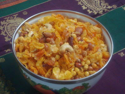 Sweet and Spicy Corn Mixture