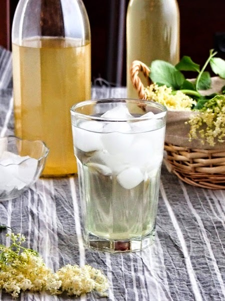 using elderflower cordial