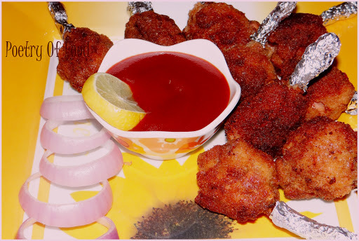 Chicken Lollipop...An Appetizer for My Little One...!!